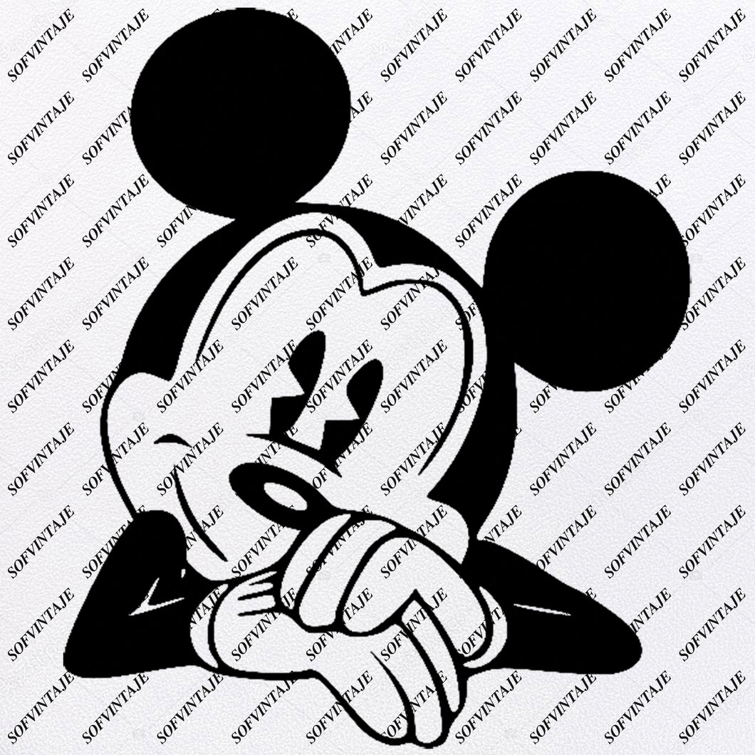 Disney Svg File - Mickey Mause Svg - Mickey  Mause - Mickey Mouse Disney Clip art -Svg For Cricut -For Silhouette - SVG - EPS - PDF - DXF - PNG - JPG - AI