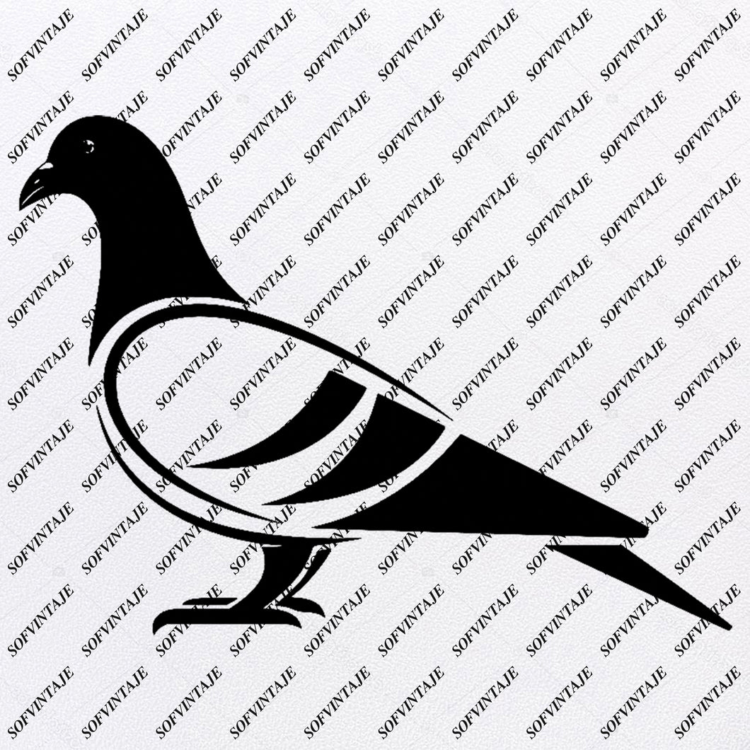 Dove - Dove Svg File-Dove Original Svg Design - Bird Svg-Clip art - Bird Vector Graphics-Svg For Cricut - Svg For Silhouette - SVG - EPS - PDF - DXF - PNG - JPG - AI