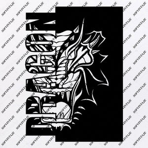 Dragon -  Dragon Svg File - Dragon Original Svg Design - Animals Svg - Clip art - Dragon Vector Graphics - Svg For Cricut - Svg For Silhouette - SVG - EPS - PDF - DXF - PDF - PNG - JPG - AI