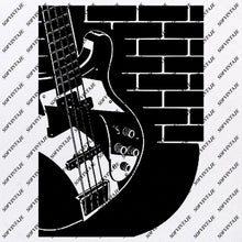 Load image into Gallery viewer, Electric Guitars Svg File-Electric Guitars Original Svg Design-Music Svg-Clip art- Vector Graphics-Svg For Cricut-Svg For Silhouette - SVG - EPS - PDF - DXF - PNG - JPG - AI