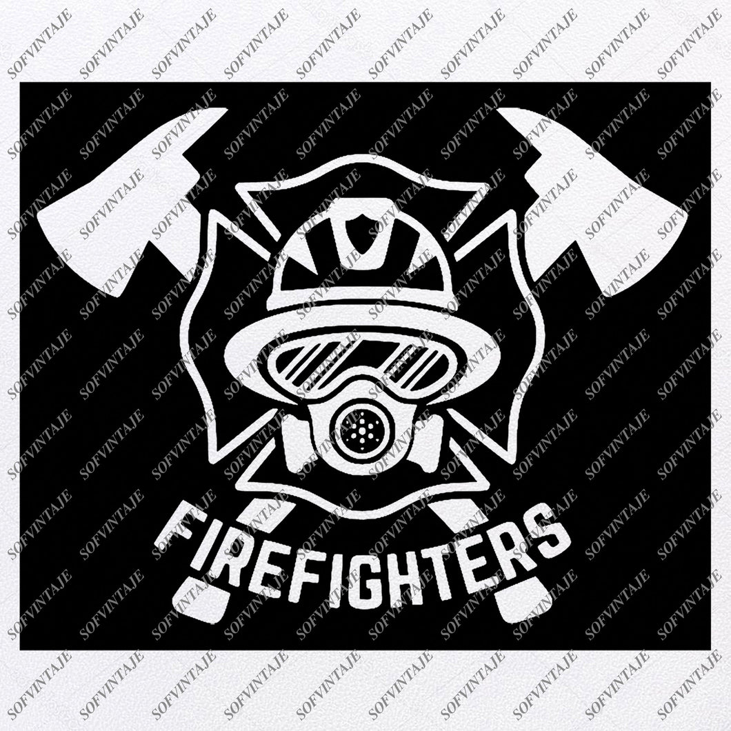 Firefighter- Firefighters Svg Files -Firefighters Svg Design - Original Design - Svg Files For Cricut - Svg For Silhouette -Firefighter Clip art - Firefighter - SVG - EPS - PDF - DXF - PNG - JPG - AI