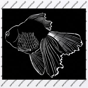 Fish Svg File-Fish Svg Design-Clipart-Fish Svg File-Fish Png-Fish Vector Graphics-Svg For Cricut-For Silhouette - SVG - EPS - PDF - DXF - PNG - JPG - AI
