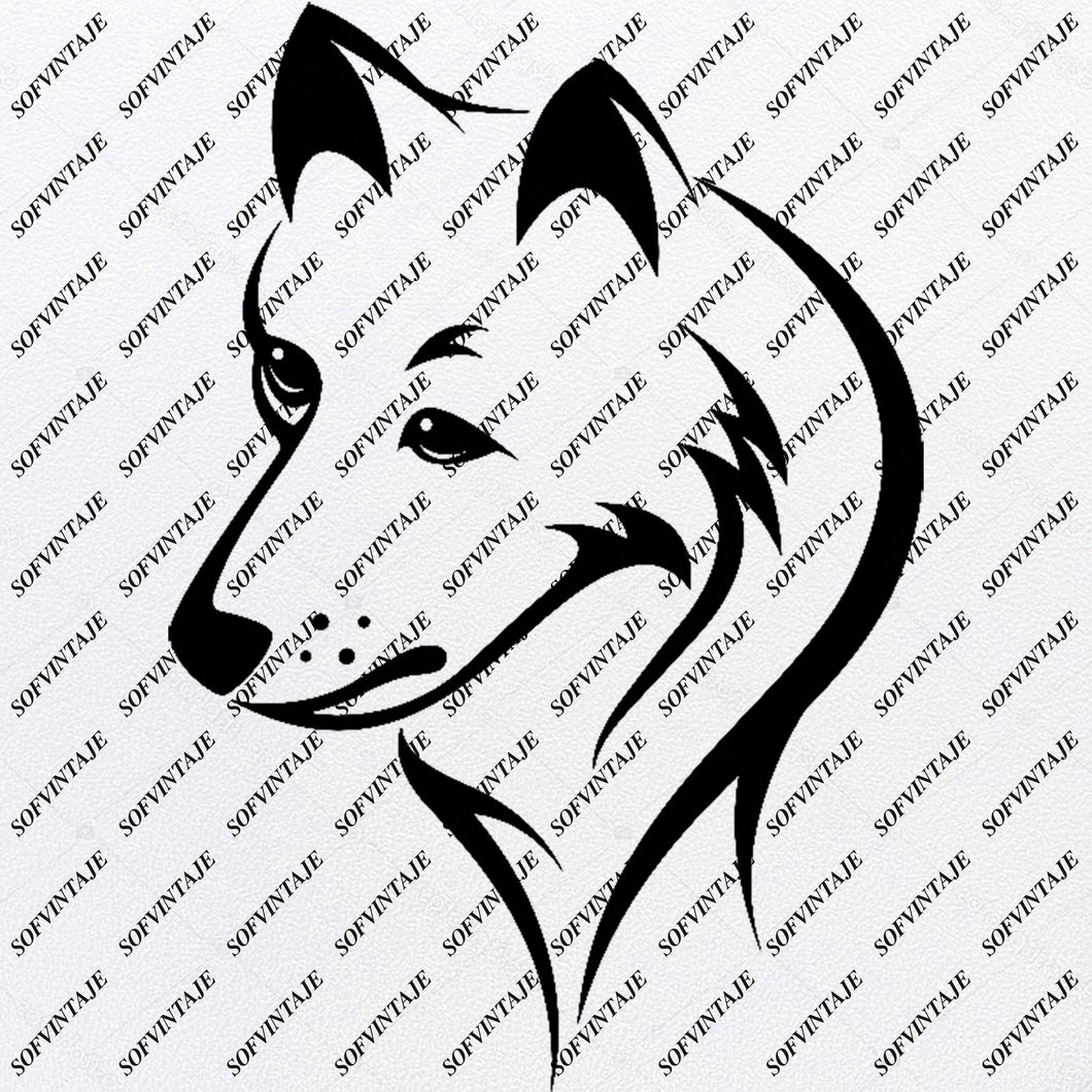 Fox Svg File - Original Svg Design - Animals Svg - Clip art - Fox Vector Graphics - Svg For Cricut - Svg For Silhouette - SVG - EPS - PDF - DXF - PNG - JPG - AI