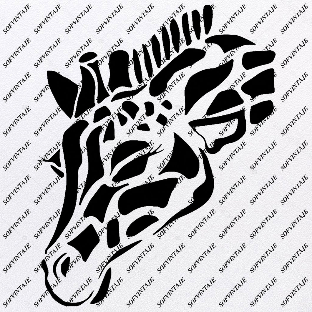 Giraffe - Giraffe Svg File - Giraffe Original Svg Design - Animals Svg - Clip art - Giraffe Vector Graphics - Svg For Cricut - Svg For Silhouette - SVG - EPS - PDF - DXF - PNG - JPG - AI
