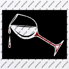 Load image into Gallery viewer, Glass Svg File-Glass of Wine Svg - Glass   Original Svg Design-Drink Svg-Clip art- Glass   Vector Graphics-Svg  For Cricut-Svg For Silhouette - SVG - EPS - PDF - DXF - PNG - JPG - AI
