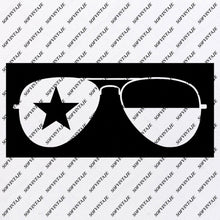 Load image into Gallery viewer, Glasses  - Sunglasses Svg File - Glasses Original Svg Design - USA Flag Svg-Clip art - Sunglasses Vector Graphics - Svg  For Cricut - Svg For Silhouette - SVG - EPS - PDF - DXF - PNG - JPG - AI