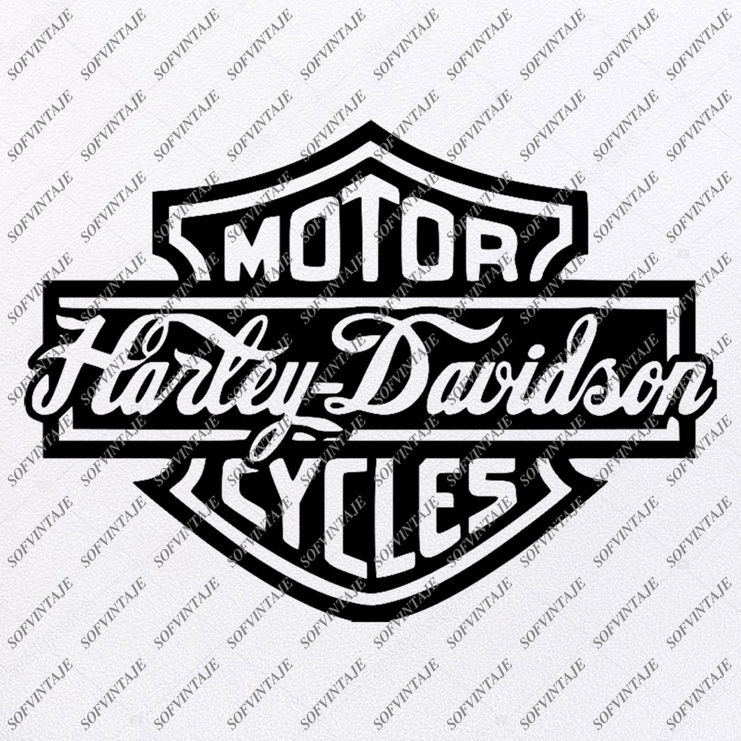 Harley Davidson Svg File-Harley Davidson Svg Design-Clipart-Tattoo For motorcycle- Harley Davitson Png-Vector Graphics-Svg For Cricut-For Silhouette-SVG - EPS - PDF - DXF - PNG - JPG -AI