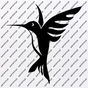 Hummingbird Svg File-Tattoo Svg Design-Clipart-Hummingbird Svg Files- Hummingbird Png-Vector Graphics-Svg For Cricut-For Silhouette - SVG - EPS - PDF - DXF - PNG - JPG - AI