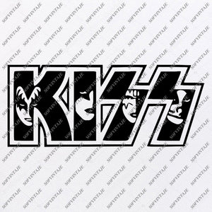 Kiss Band-Gene Simmons Svg File-Kiss Svg Design-Clipart-Svg-Kiss Band Png-Kiss Band Vector Graphics-Svg For Cricut-For Silhouette - SVG - EPS - PDF - DXF - PNG - JPG - AI
