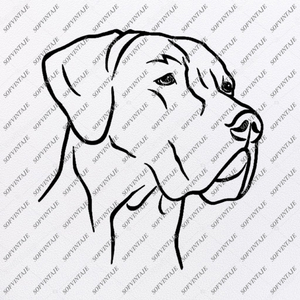 Labrador Dog Svg-Dog Svg Original Design-Labrador Clip art-Animals Svg File-Labrador Vector Graphics-Svg For Cricut-For Silhouette - SVG - EPS - PDF - DXF - PNG - JPG - AI