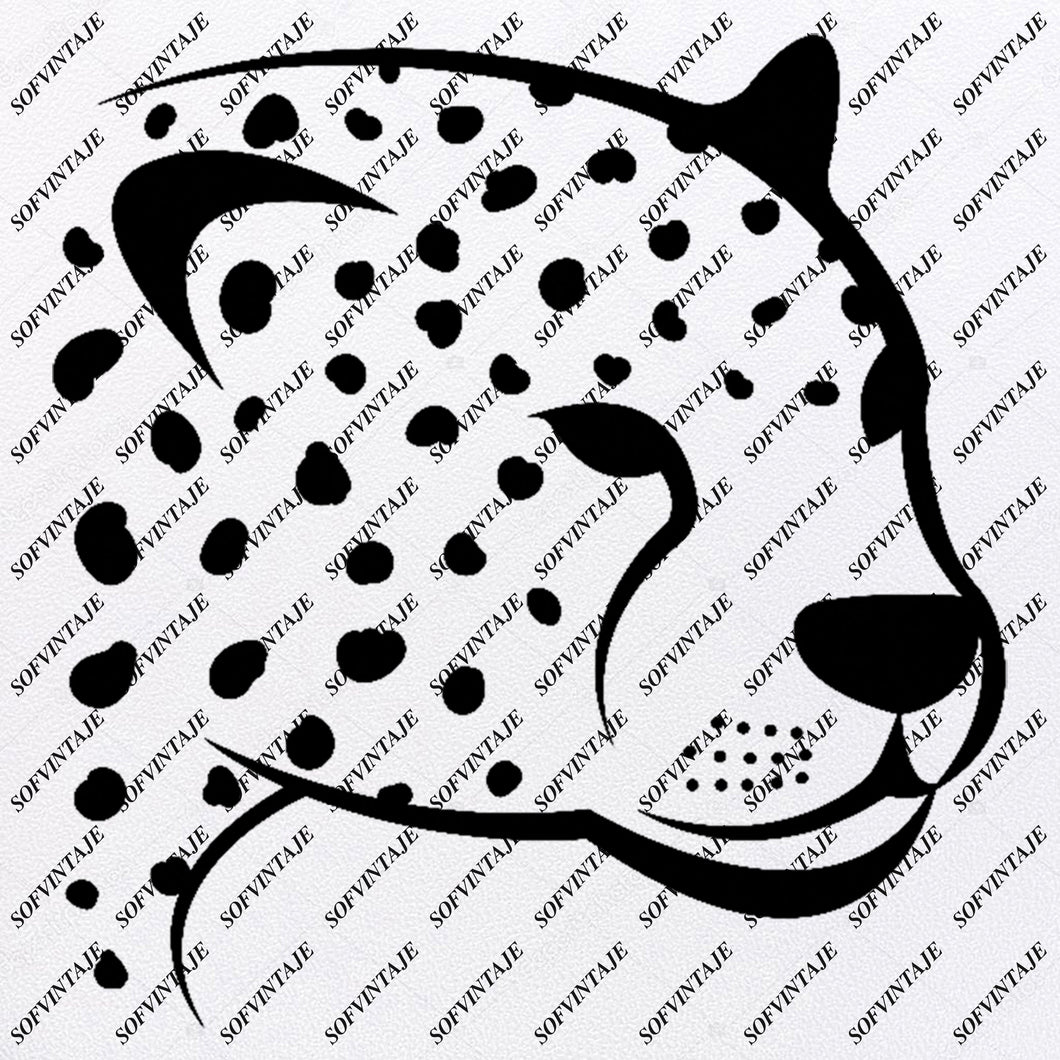 Leopard - Leopard King- Leopard Queen Svg File - Leopard Svg - Big Cats Svg - Wild Cats Clipart - Vector Graphics - Svg For Cricut - Svg For Silhouette - SVG - EPS - PDF - DXF - PNG - JPG - AI