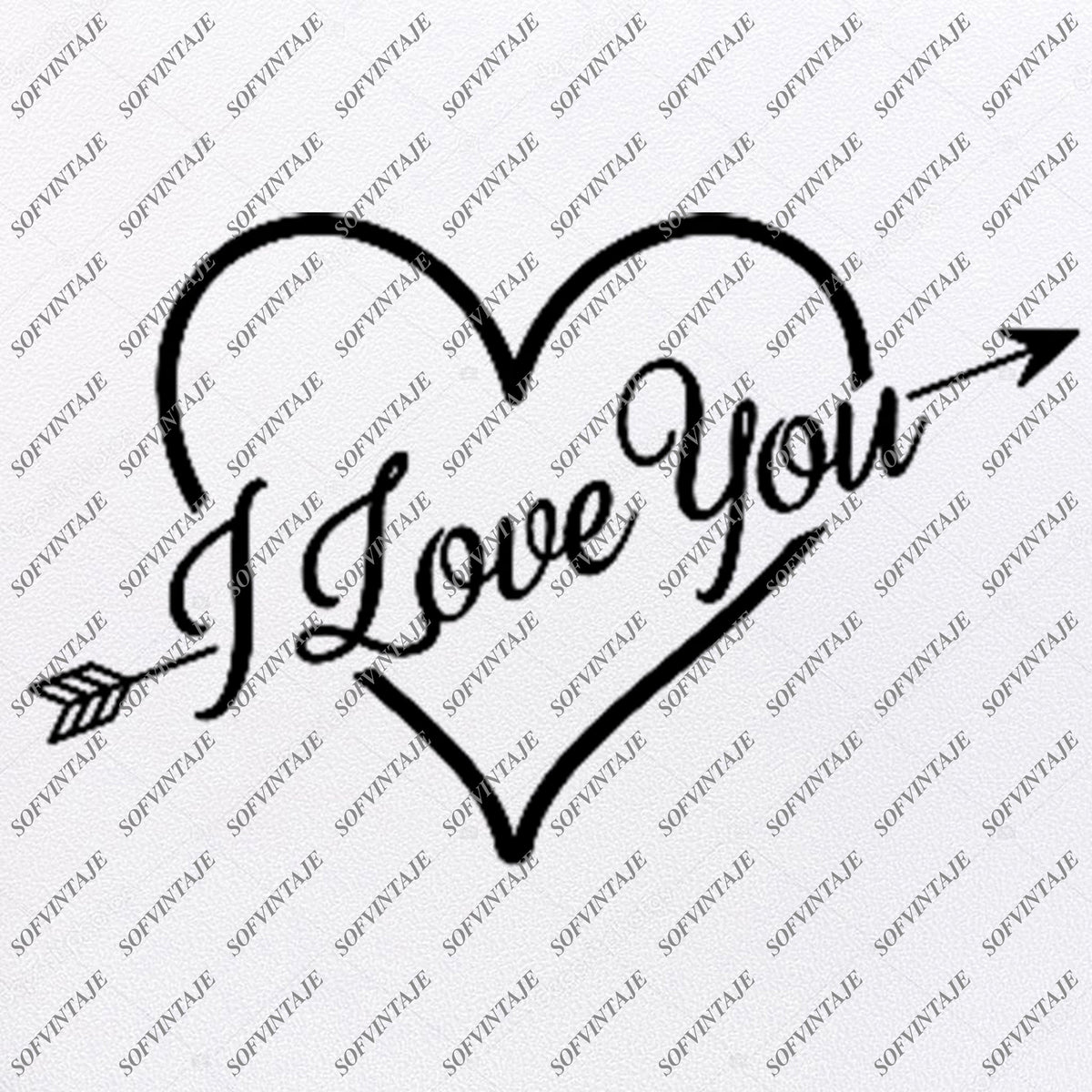 Download Love Heart Svg File - I Love You Svg - Love Heart Svg ...