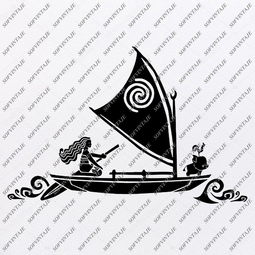 Moana Svg Files - Disney Moana Svg Design - Princess Moana Png - Moana Clipart - Svg For Cricut - Svg For Silhouette - Vector Graphics - SVG - EPS - DXF - PDF - PNG - JPG - AI