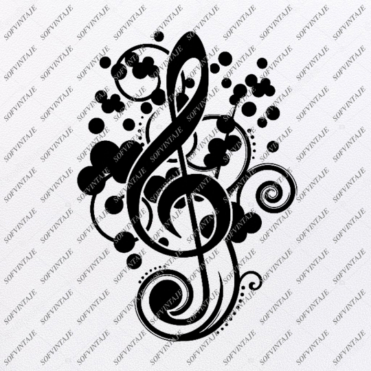 Music Note Svg File-Music Svg Design-Clipart-Music Svg File-Note Png-Vector Graphics - Svg For Cricut-For Silhouette - SVG - EPS - PDF - DXF - PNG - JPG - AI