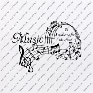 Music is My Life Svg File-Music Svg Design-Clipart-Music Svg File-Music Png-Vector Graphics - Svg For Cricut-For Silhouette - SVG - EPS - PDF -DXF - PNG - JPG - AI