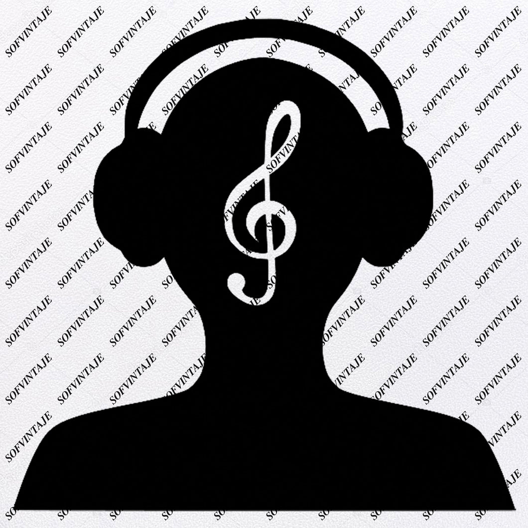 Note - Music Note Svg File - Music Svg Design - Clipart - Music Svg File - Music Png - Vector Graphics - Svg For Cricut - For Silhouette - SVG - EPS - PDF - DXF - PNG - JPG - AI
