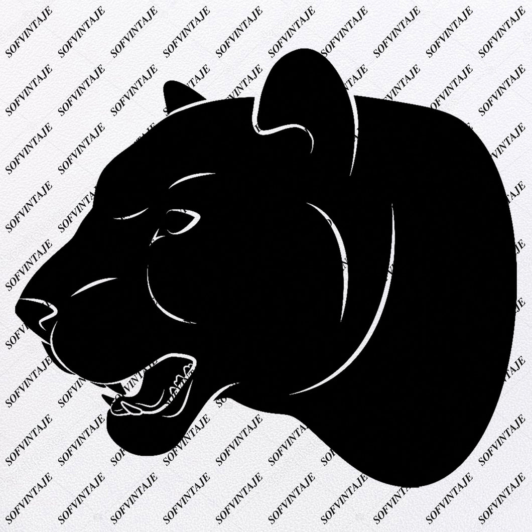 Panther - Panther Svg File - Panther Original Svg Design - Animals Svg - Clip art - Panther Vector Graphics - Svg For Cricut-Svg For Silhouette - SVG - EPS - PDF - DXF - PNG - JPG - AI