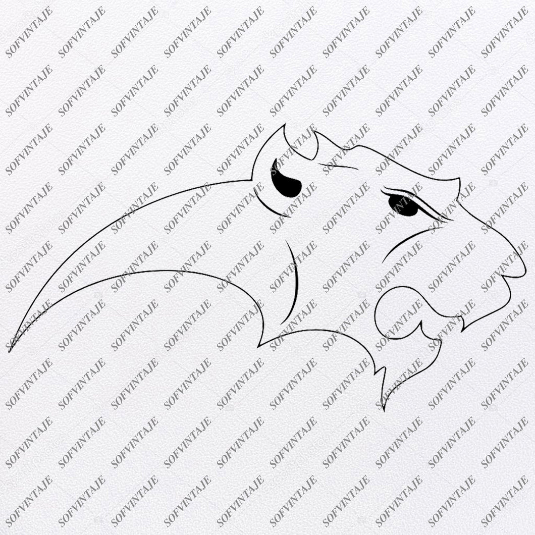 Panther Svg File-Panther Original Svg Design-Animals Svg-Clip art-Panther Vector Graphics-Svg For Cricut-Svg For Silhouette-SVG - EPS - PDF - DXF - PNG - JPG -AI