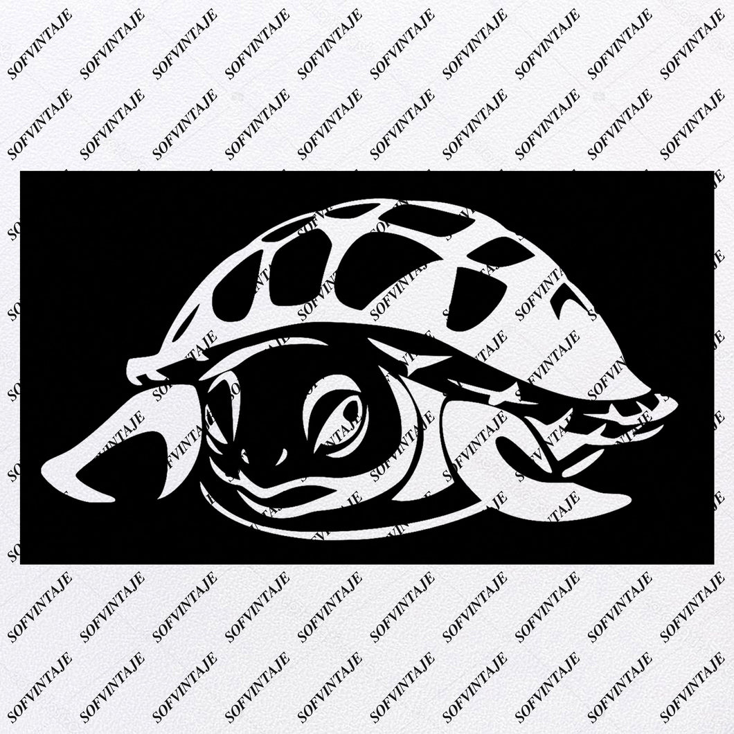 Sea Turtle - Sea Turtle Svg File-Turtle Original Design - Sea Turtle Clip art - Tattoo Svg Files - Sea Turtle Clipart -Svg For Cricut - For Silhouette - SVG - EPS - PDF - DXF - PNG - JPG - AI Original Design For Shirts Cutting Overlays Mugs Pillows - Prints Design Files