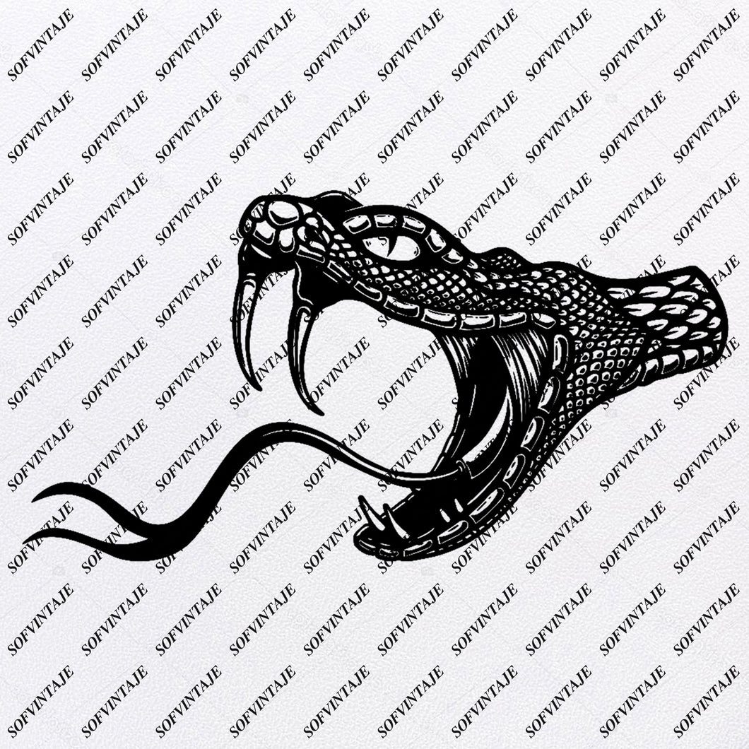 Snake Svg File-Snake-Original Svg Design-Animals Svg-Clip art-Snake Vector Graphics-Svg For Cricut-Svg For Silhouette - SVG - EPS - PDF - DXF - PNG - JPG - AI