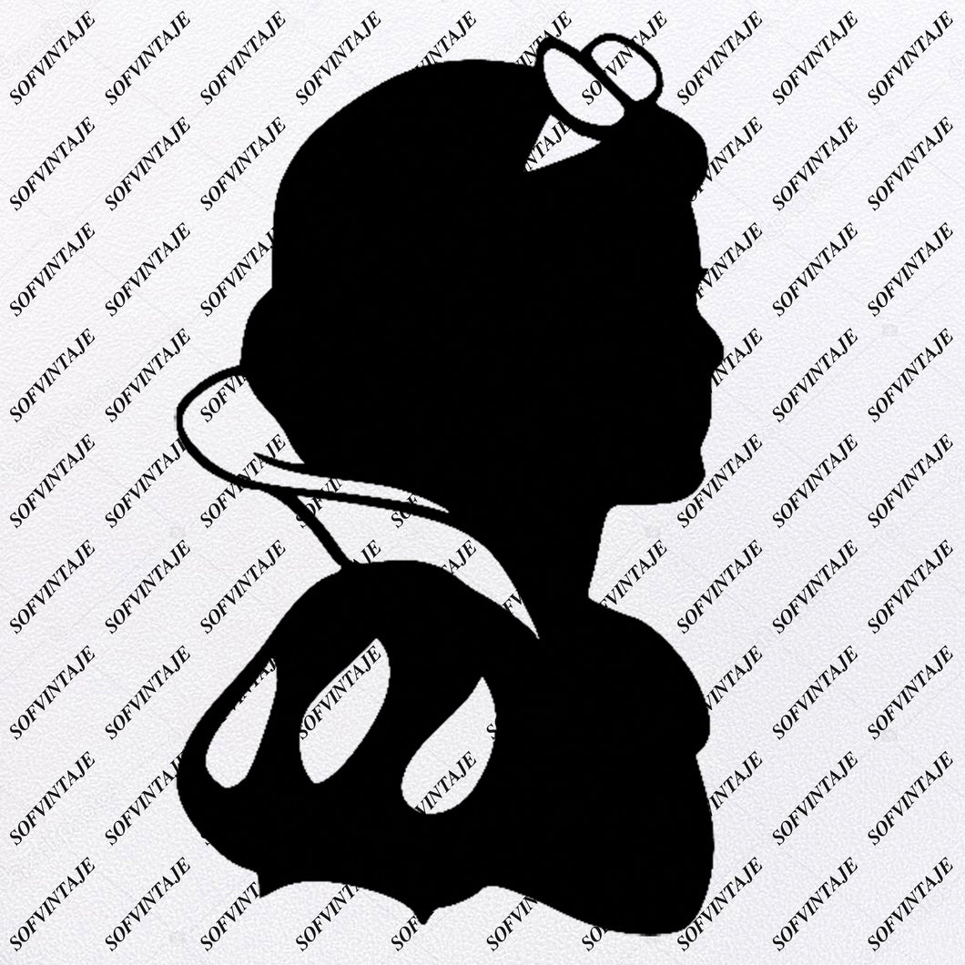 Snow White Svg File - Disney Princess Svg - Princess Snow White Svg - Evil Queen Svg - Evil Queen Clipart - Vector Graphic - For Cricut - For Sihouette - SVG - EPS - PDF - DXF - PNG - JPG - AI