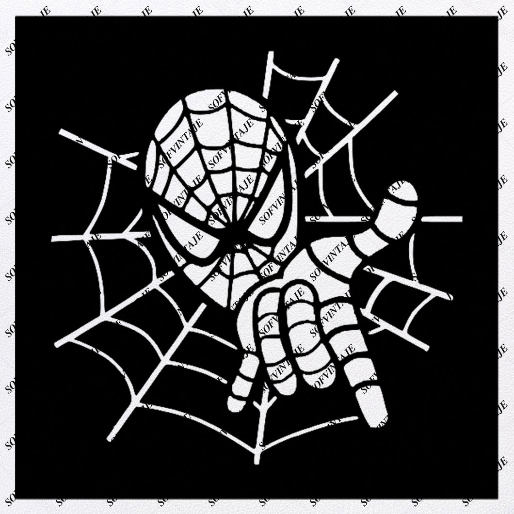 Spiderman Logo Svg File-Spiderman Original Svg DesignTattoo Svg-Spiderman Clip art-Spiderman Vector Graphics-Svg For Cricut-Svg For Silhouette - SVG - EPS - PDF - DXF - PNG - JPG - AI