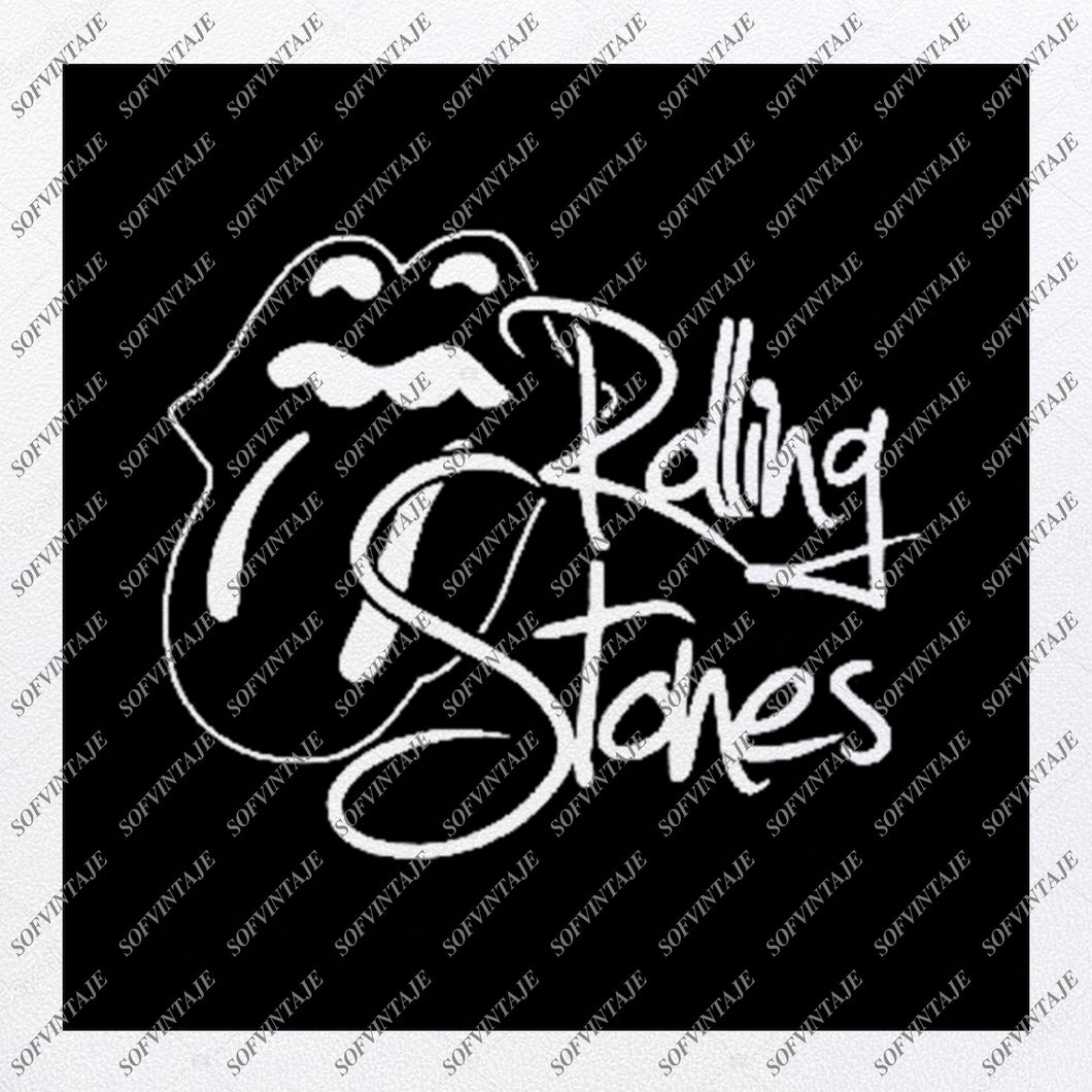 The Rolling Stones Svg File-The Rolling Stones Svg Design-Clipart-Svg-The Roling Stones Png-Vector Graphics-Svg For Cricut-For Silhouette -SVG - EPS - PDF - DXF - PNG - JPG - AI