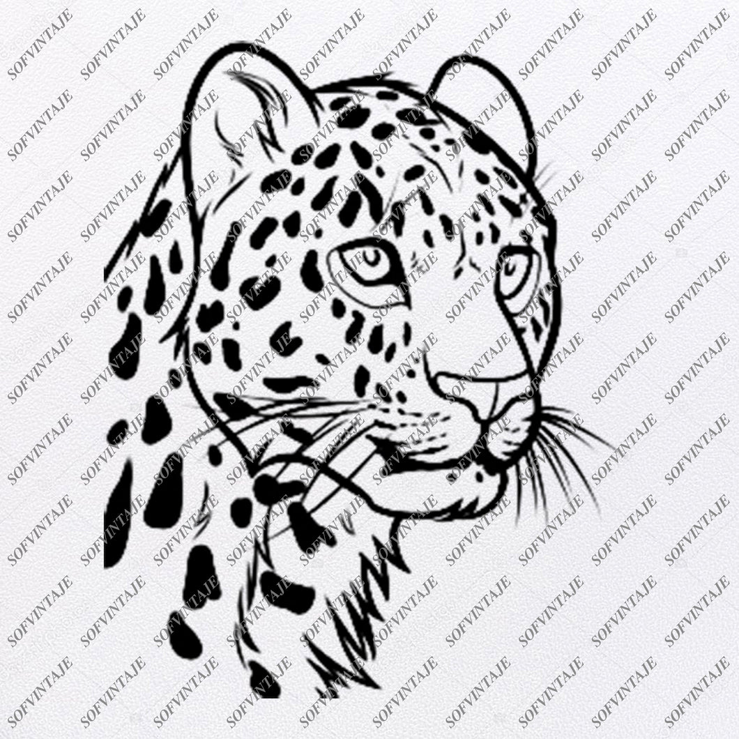 Tiger Svg File - Tiger Original Svg Design - Animals Svg - Clip art - Tiger Vector Graphics- Svg For Cricut - Svg For Silhouette - SVG - EPS - PDF -DXF - PNG - JPG - AI
