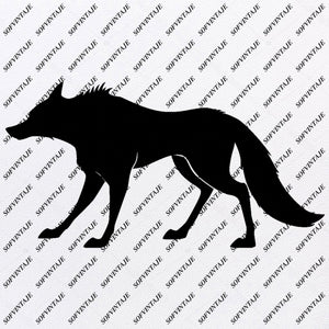 Wolf Svg File - Volves Original Design - Volves Clip art - Animals Svg Files - Wild Animals Clipart - Svg For Cricut -For Silhouette - SVG - EPS - PDF - DXF - PNG - JPG - AI