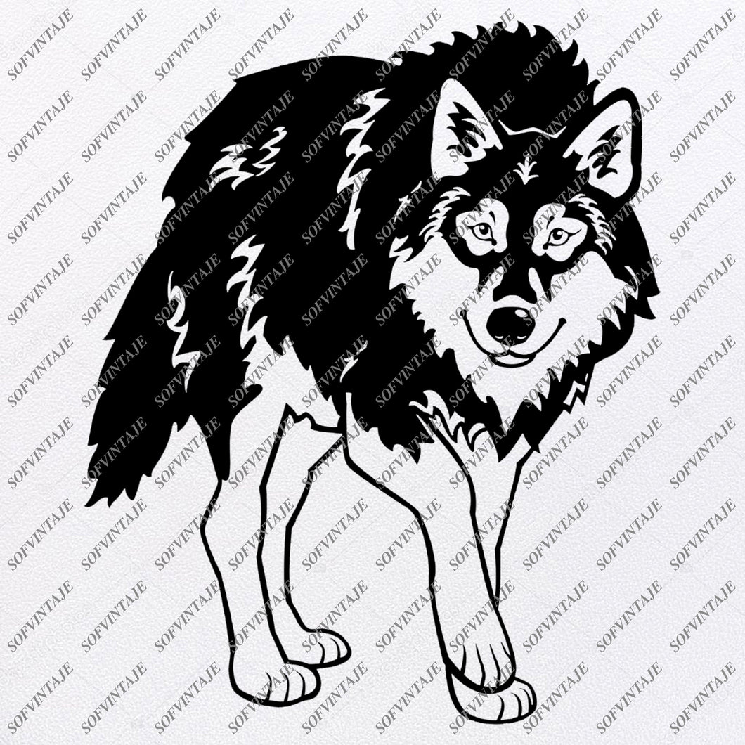 Wolf Svg File - Wolf Svg Design - Wolf Clipart - Animals Svg - Animals Clipart - Vector Graphics - Svg For Cricut - For Silhouette - SVG - EPS - PDF - DXF - PNG - JPG - AI