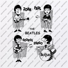 Load image into Gallery viewer, The Beatles Svg File-The Beatles Svg Design-Clipart-Music Svg File-England Png-Vector Graphics - Svg For Cricut - For Silhouette - DXF - EPS