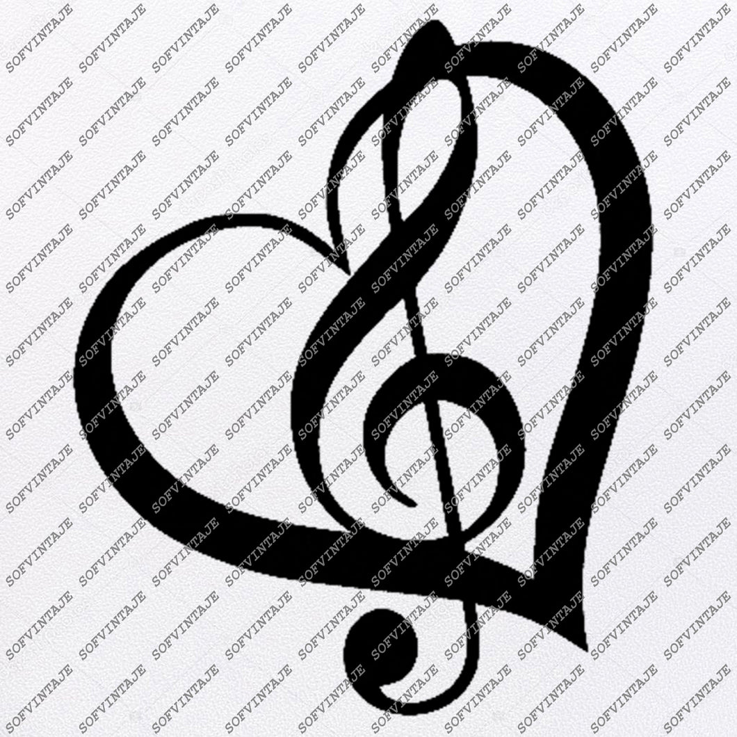 Music is My Life Svg File-Music Svg Design-Clipart-Music Svg File-Music Png-Vector Graphics - Svg For Cricut-For Silhouette-DXF-EPS