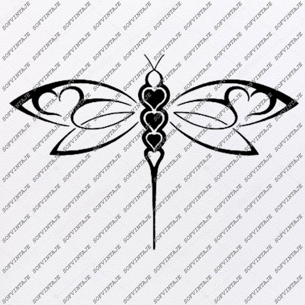 Dragonfly Svg-Butterflies Svg File-Dragonfly Design-Clipart-Dragonfly-Dragonfly Png-Vector Graphics-Svg For Cricut-For Silhouette - SVG - EPS - PDF - DXF - PNG - JPG - AI