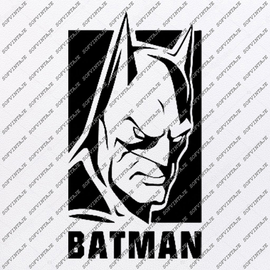 Batman Svg File-Batman Logo Svg Design-Clipart- Batman Svg File-Batman Logo Png-Vector Graphics-Svg For Cricut-For Silhouette-SVG-EPS-PDF-DXF-PNG-JPG-AI