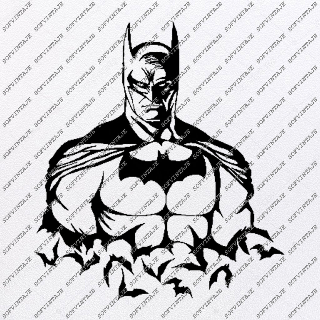 Batman Svg File-Batman Logo Svg Design-Clipart- Batman Svg File-Batman Logo Png-Vector Graphics-Svg For Cricut-For Silhouette-DXF-EPS