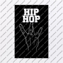 Load image into Gallery viewer, Hip Hop Svg File-Msic Original Svg Design-Music Svg-Clip art -Music Vector Graphics - Svg For Cricut - Svg For Silhouette - SVG-EPS-PDF-DXF-PNG-JPG-AI