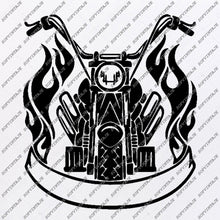 Load image into Gallery viewer, Harley Davidson-Motorcycle Harley Davidson Svg File-Vector Graphics-Svg For Cricut-Motorcycle For Tattoo-Svg For Silhouette-SVG-EPS-PDF-DXF-PNG-JPG-AI