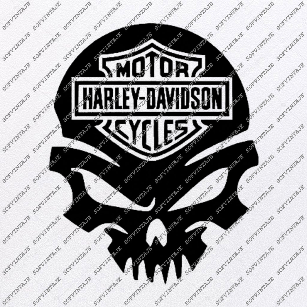 Harley Davidson Svg File-Skull Svg Design - Клипарт-Мотоциклы Svg Файл-Davidson Png-Векторная графика-Svg Для ПодHarley Davidson Svg File-Skull Svg Design - Clipart-Motorcycles Svg File-Davidson Png-Vector Graphics-Svg For Cricut-For Silhouette - SVG - EPS - PDF - DXF - PNG - JPG - AI стригаться-Для Силуэт-DXF-EPS
