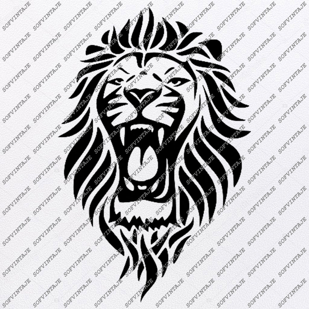 Lion Head Svg File-Lion Head Original Svg Design-Animals Svg-Clip art-Lion Vector Graphics-Svg For Cricut-Svg For Silhouette-Lion-SVG-Lion EPS-Lion PDF-Lion DXF-Lion PNG-Lion JPG-Lion AI