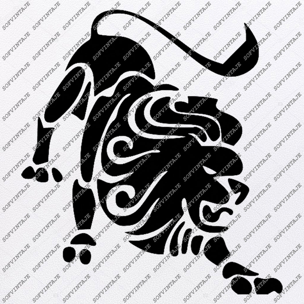 Lion Svg File-Lion King Original Svg Design-Animals Svg-Clip art-Lion Vector Graphics-Svg For Cricut-Svg For Silhouette - SVG - EPS - PDF - DXF - PNG - JPG - AI