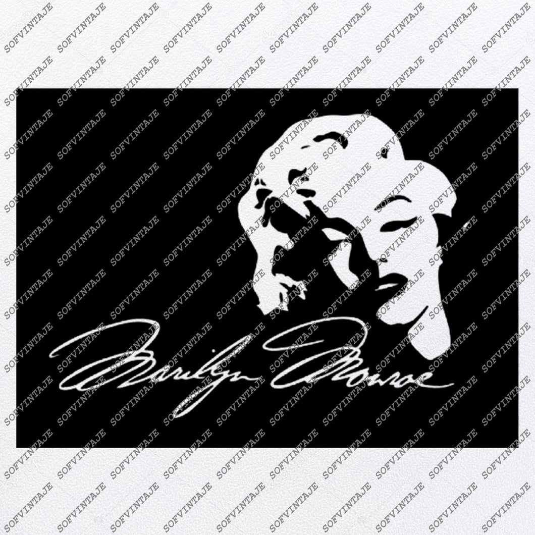 Marilyn Monroe svg File-Marilyn Monroe Svg Design-Clipart-Artist Svg File-Artist Png-Vector Graphics-Svg For Cricut-For Silhouette-SVG-EPS-PDF-DXF-PNG-JPG-AI