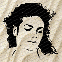 Load image into Gallery viewer, Michael Jackson Svg File-Jackson Svg Design-Clipart-Music Svg File-Music Png - Vector Graphics - Svg For Cricut - For Silhouette - DXF - EPS