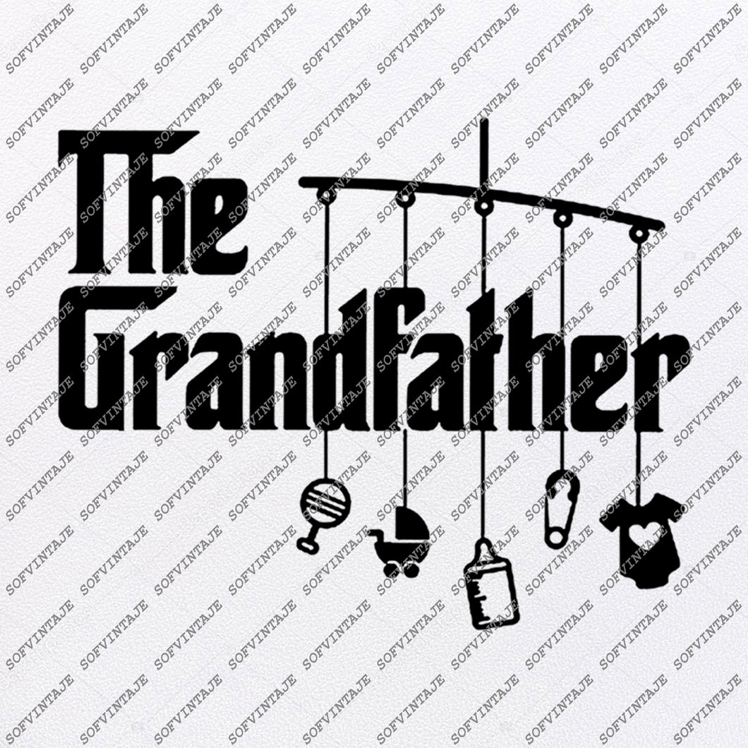 Grandfather Svg File - The Grandfather Svg Original Design - Clipart - Vector Graphics - Svg For Cricut - Svg For Silhouette -DXF - SVG - EPS - PDF - DXF- PNG - JPG - AI