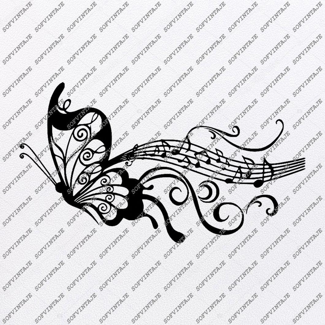 Butterflies Svg File-Tattoo Svg Design-Clipart-butterflies Svg Files-Butterflies For Tattoo-Vector Graphics-Svg For Cricut-For Silhouette - SVG - EPS - PDF - DXF - PNG - JPG - AI