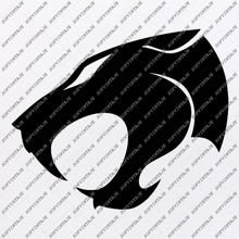 Load image into Gallery viewer, Panther Svg File-Panther Original Svg Design-Animals Svg-Clip art-Panther Vector Graphics-Svg For Cricut-Svg For Silhouette-SVG-DXF-PDF-EPS-PNG-JPG-AI