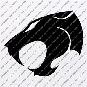 Panther Svg File-Panther Original Svg Design-Animals Svg-Clip art-Panther Vector Graphics-Svg For Cricut-Svg For Silhouette-SVG-DXF-PDF-EPS-PNG-JPG-AI