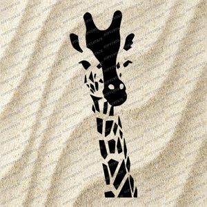 giraffe Svg File-giraffe Original Svg Design-Animals Svg-Clip art-Vector Graphics-Svg For Cricut-Svg For Silhouette-DXF-EPS