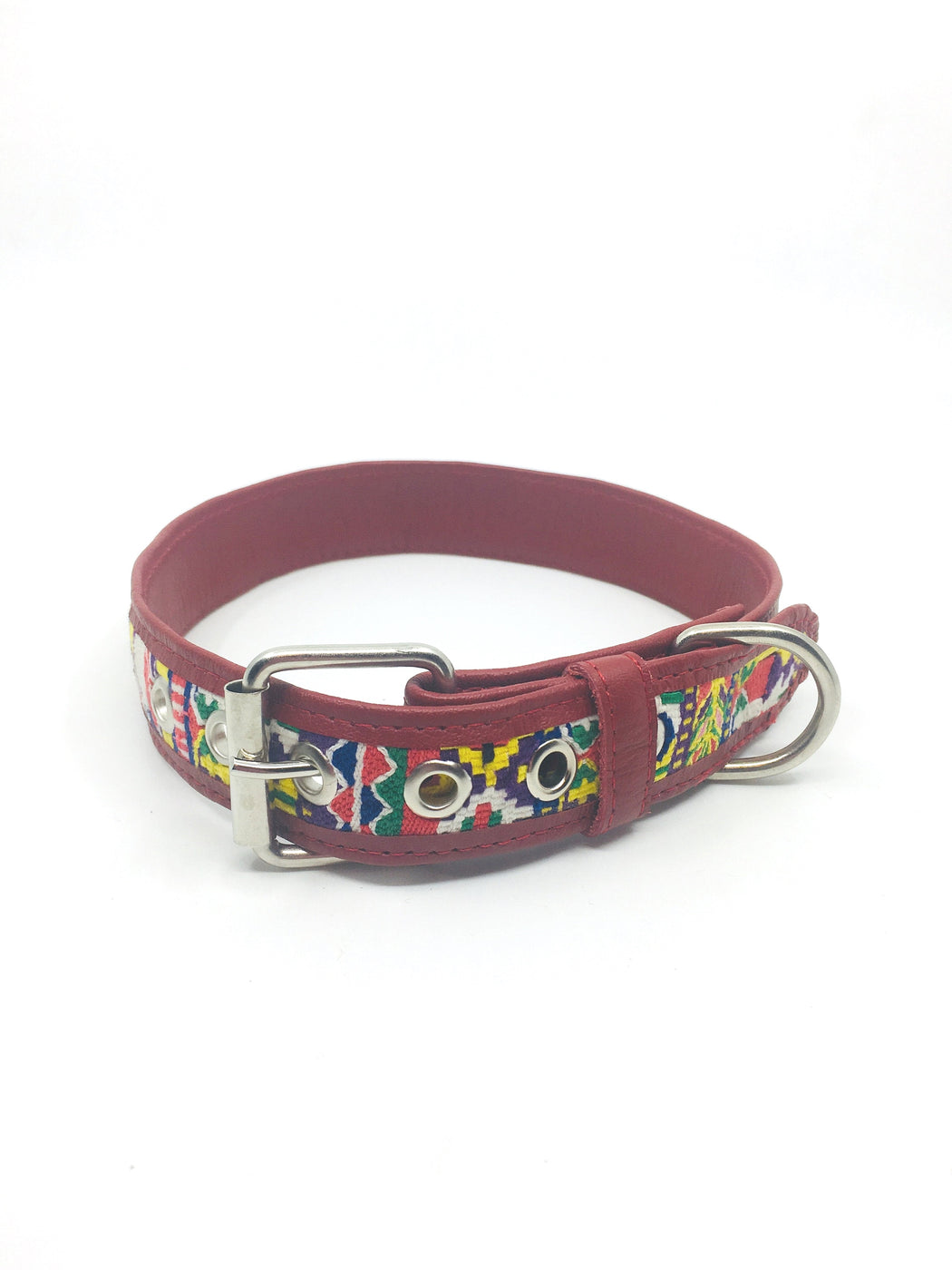 Extra Large Red Geo Collar
