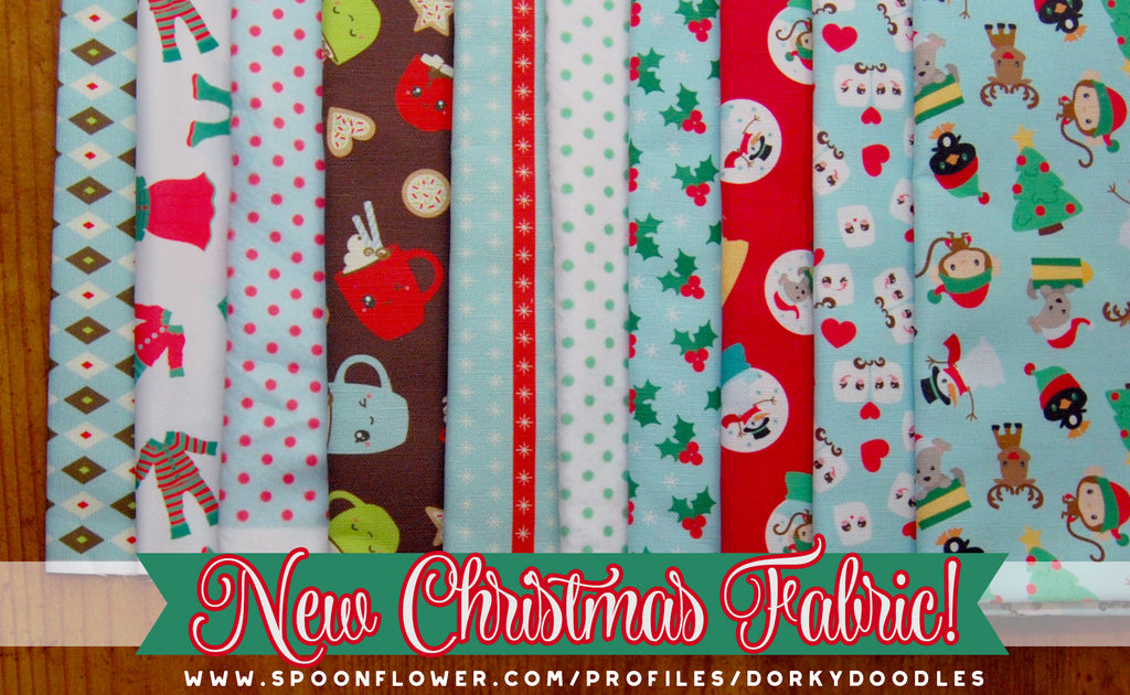 New Christmas Fabric!