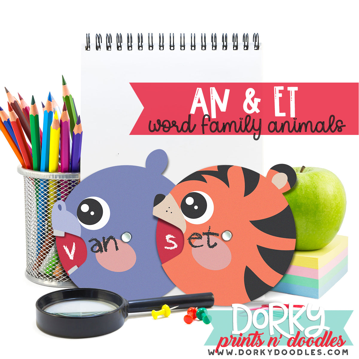 Word Families - AN and ET